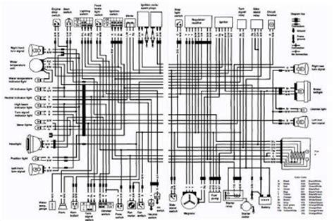Suzuki Wiring Diagram 1997 by Suzuki Vs800 Intruder 1992 Complete Electrical Wiring
