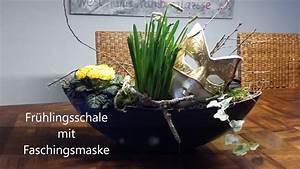 Bärbels Wohn Und Deko Ideen : fr hlingsdeko schale mit faschingsmaske b rbel s wohn deko ideen youtube ~ Orissabook.com Haus und Dekorationen