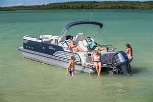 Vision Rear Lounger Pontoon Boat