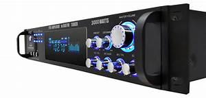 Amazon Com  Multi-channel Bluetooth Power Amplifier