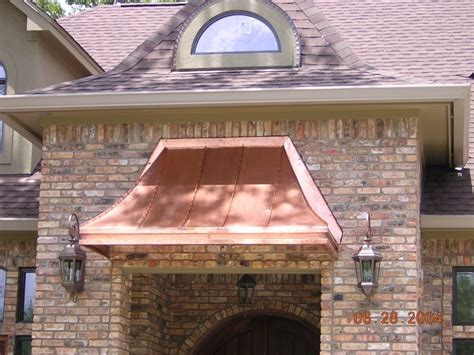 images  copper awnings  pinterest copper classic  front doors
