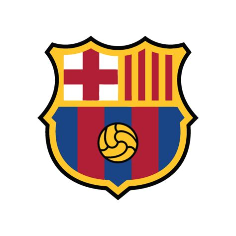 FC Barcelona new logo in (.EPS + .AI) free download ...