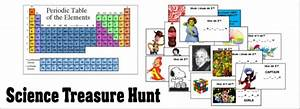 Science Treasure Hunt - Periodic Table Printable Treasure ...
