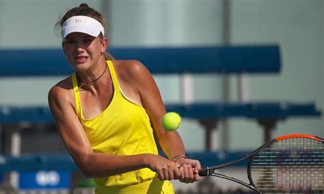 Latvijas talantīgā tenisiste Bartone: Mērķis ir būt pašai ...