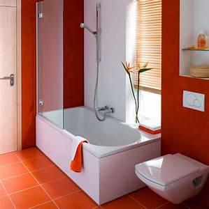 Baignoire Douche Dimension : baignoire douche avec bonde centrale en acier titane vitrifi ~ Premium-room.com Idées de Décoration