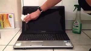 Nettoyer écran Mac : nettoyer un cran d 39 ordinateur nettoyer poussi res d 39 cran avec un produit vitre youtube ~ Melissatoandfro.com Idées de Décoration