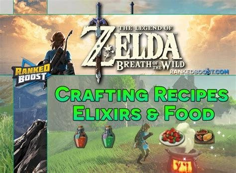 zelda breath   wild crafting recipes food cooking