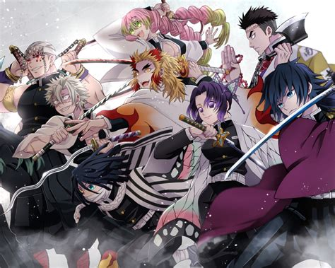 demon slayer kimetsu  yaiba team