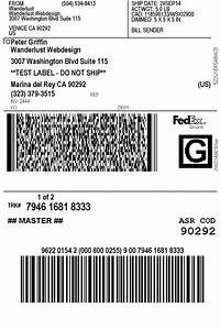 Print fedex shipping labels woocommerce plugin for Do i need a shipping label