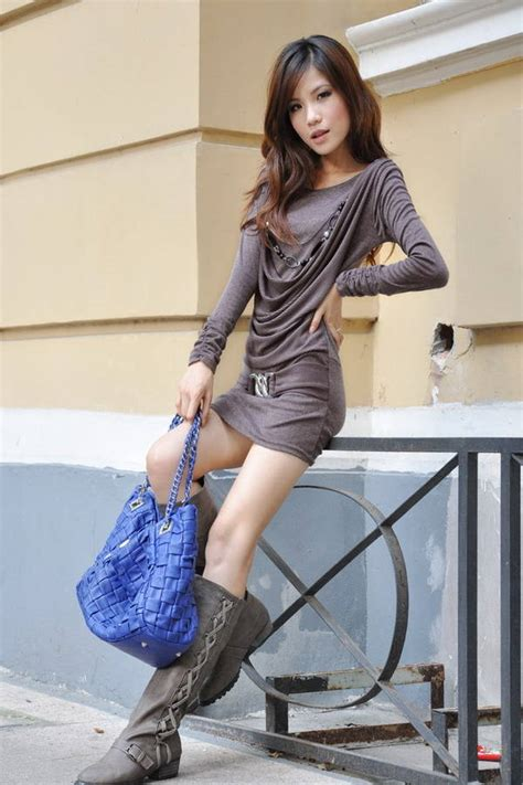 Free Shipping New Spring And Autumn And Korea Tight Sex Pendant Dress Free Size In Dresses From
