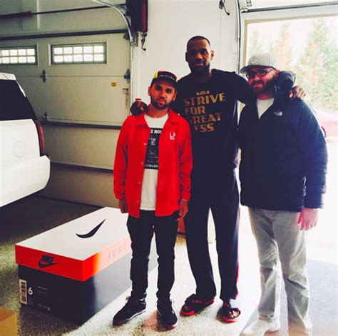 Lebron Shoe Closet by Fit For A King Meet The Guys Who Built Lebron