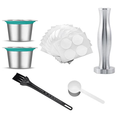 4 out of 5 stars, based on 26 reviews 26 ratings current price $11.99 $ 11. Stainless Steel Refillable Coffee Capsules Reusable Pods Filters Lids for Nespresso Machines ...