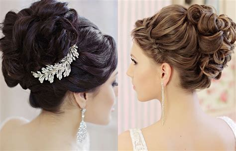 elegant updos   beautiful wedding hairstyles