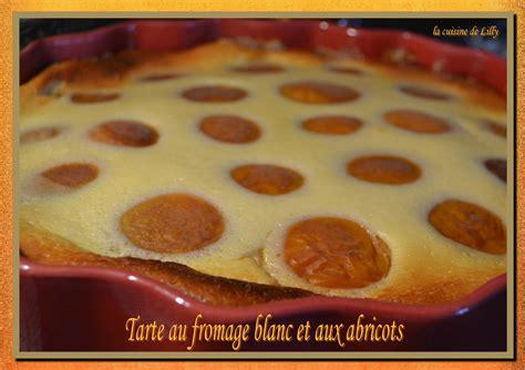 tarte au fromage blanc sans p 226 te et aux abricots la cuisine de lilly