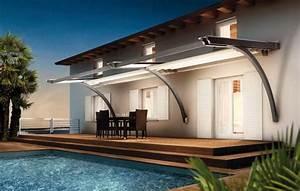 Store Pour Terrasse : toile pour auvent de terrasse toile auvent terrasse sur ~ Premium-room.com Idées de Décoration