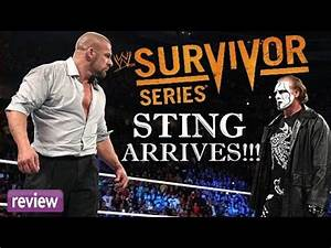 WWE Survivor Series 2014 Review: Best PPV Because Sting ...