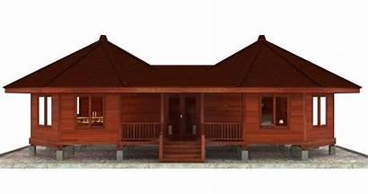 Plans Floor Octagon Octagonal Bali Rondavel Tropical