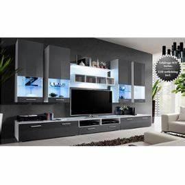 Meuble Tv Bas Et Long : meuble tv bas et long blanc ~ Teatrodelosmanantiales.com Idées de Décoration