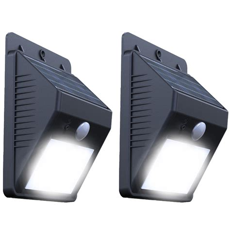 solar sensor wall light solar motion l wall mounted ray pir motion sensor