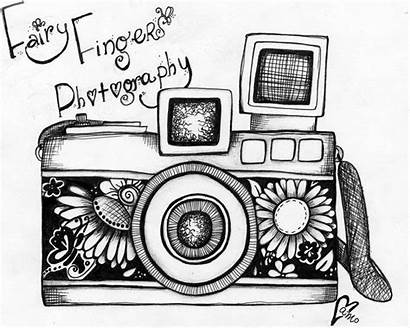 Camera Drawing Cameras Easy Deviantart Drawings Sketch