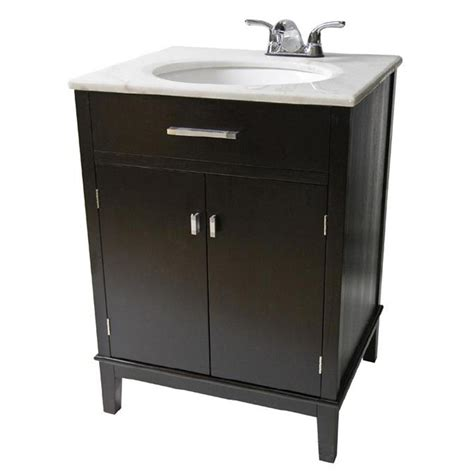 simpli home 30 quot urban loft bathroom vanity with marble
