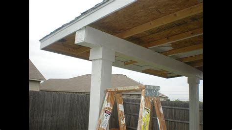 How To Build Covered Porch by How To Build A Patio Cover Pt 2 Must See Edition