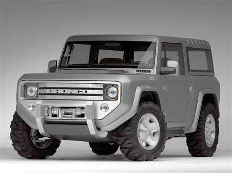 Ford Bronco With Ecoboost And Diesel Options In The Works