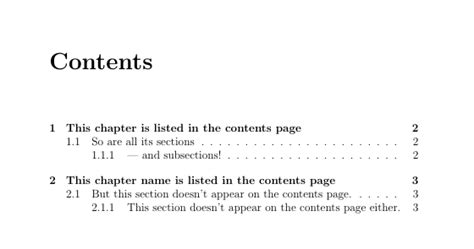 table of contents hide bmx sectioning hide sections of specific chapter from table