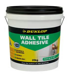 dunlop 20kg wall tile adhesive bunnings warehouse