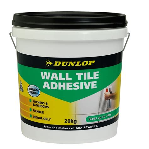 Badezimmer Fliesen Klebefolie by Dunlop 20kg Wall Tile Adhesive Bunnings Warehouse