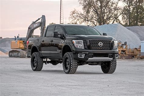6in suspension lift kit for 2017 4wd nissan titan pickups