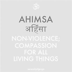 AHIMSA Quotes Like Success