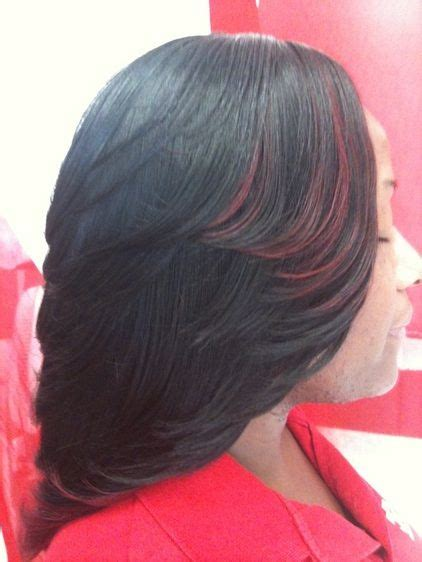 Layered Sew In Weave Hairstyles by Weave Cut In Layers Sew In Weave Bob Hairstyles With