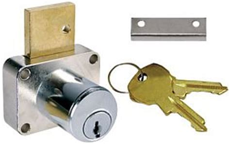 National Cabinet Lock by Compx National Cabinet Lock C8179 915 26d National 1 3 8