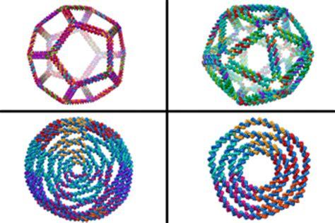 computer models   complex  dna shapes medical
