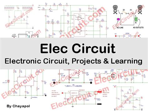 Simple Electronic Circuits For Beginner Small Circuit