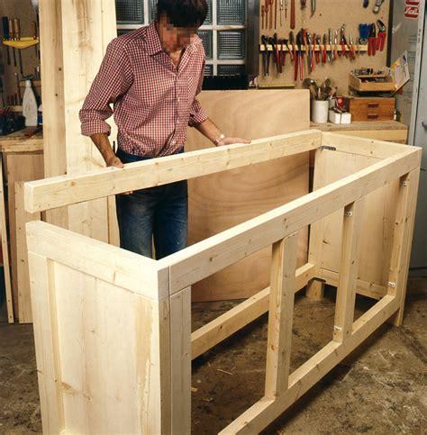 meuble de cuisine a faire soi meme comment fabriquer un meuble de rangement en bois