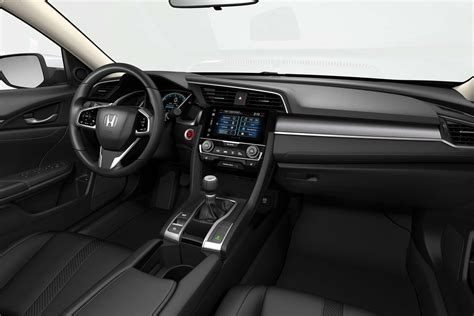 honda civic 2017 interior 2017 honda civic hatchback starts at 20 535 automobile