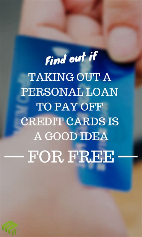 If you're carrying balances on more than one credit card, create a list that includes each card, how much you owe on it, the monthly payment, and the. Should I Take Out A Personal Loan To Pay Off My Credit Cards? | Personal loans, Paying off ...