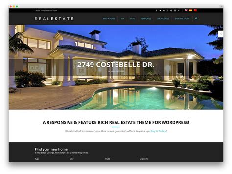 Real Estate Themes 40 Best Real Estate Themes For Agencies