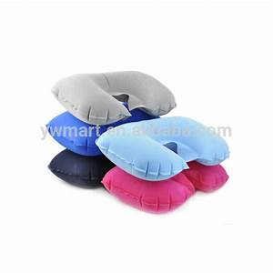 solid color print neck inflatable wholesale travel pillows With cheap travel pillows in bulk