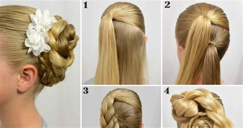 How To Do Hairstyles by Easy Step By Step Tutorials On How To Do Braided Hairstyle