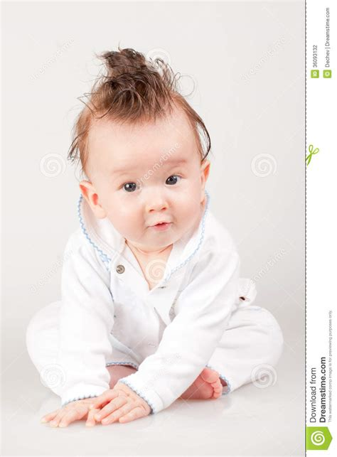 cute  baby boy stock photography image