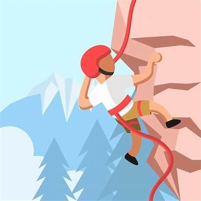 Climbing Rock Vector