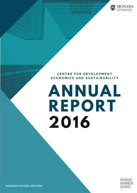 free annual report annual reports cdes monash business school