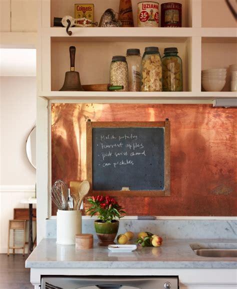 copper kitchen backsplash ideas stunning copper backsplash for modern kitchens decozilla