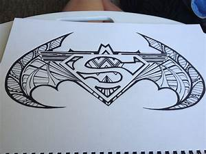Superman batman wonder woman symbol Design. by DrawMEGA on ...