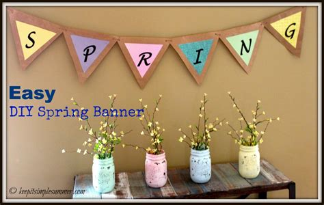 Five Simple Diy Spring/easter Decor Ideas