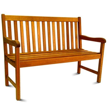 walmart garden bench outdoor 4 fsc eucalyptus wood outdoor bench
