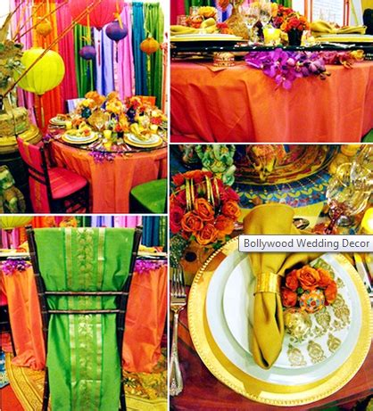 decorate  ceremony  reception bollywood style